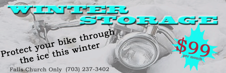 Keep your bike safe this winter - store it at Coleman PowerSports.