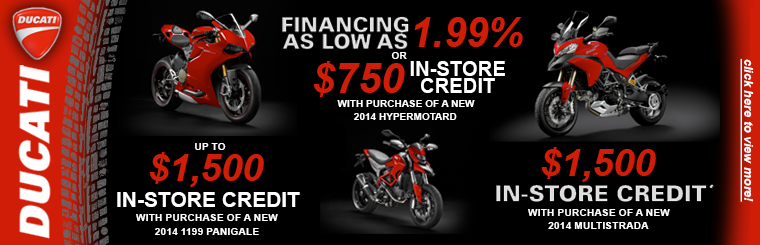 Summer Offers from Ducati