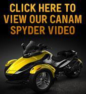 View Our Can-Am Spyder Video