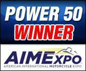 Power 50 Winner. AIMExpo.