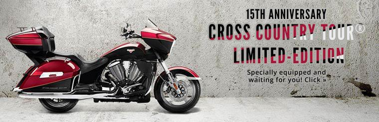 Check out the 2014 Victory Motorcycles 15th Anniversary Cross Country Tour® LE.