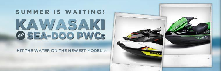 Kawasaki and Sea-Doo PWCs: Click here to view the newest models.