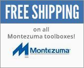 Free shipping on all Montezuma toolboxes!
