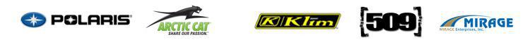We proudly carry products from Polaris, Arctic Cat, Klim, 509 Snowgear, and Mirage.