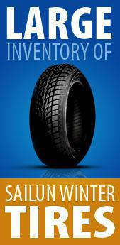 Large inventory of Sailun winter tires!