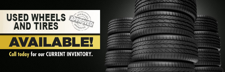 Used Wheels & Tires - R/T Tires & Wheels