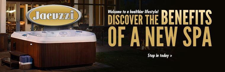 Welcome to a healthier lifestyle! Discover the benefits of a new spa. Stop in today »