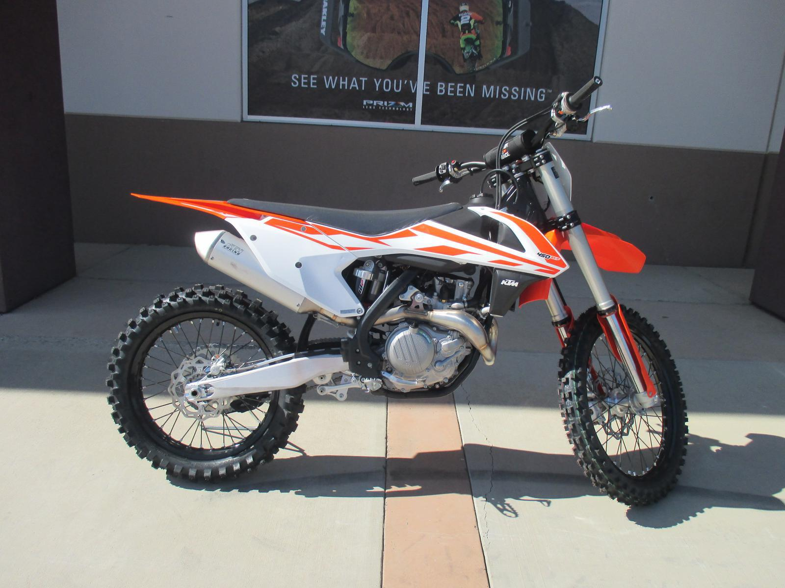 2017 ktm 450 sx-f for sale in chula vista, ca. southbay