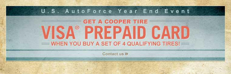 U.S. AutoForce Year End Event: Click here to contact us for details.