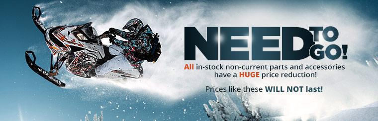 Huge Price Reduction on In-Stock Non-Current Parts and Accessories