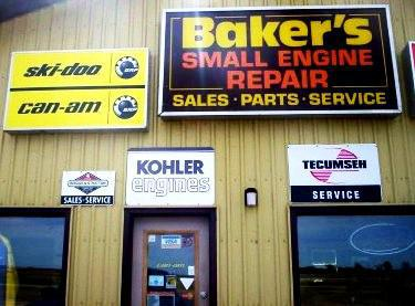 Welcome to Baker's Small Engine