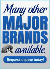 Many other major brands available. Request a quote today!