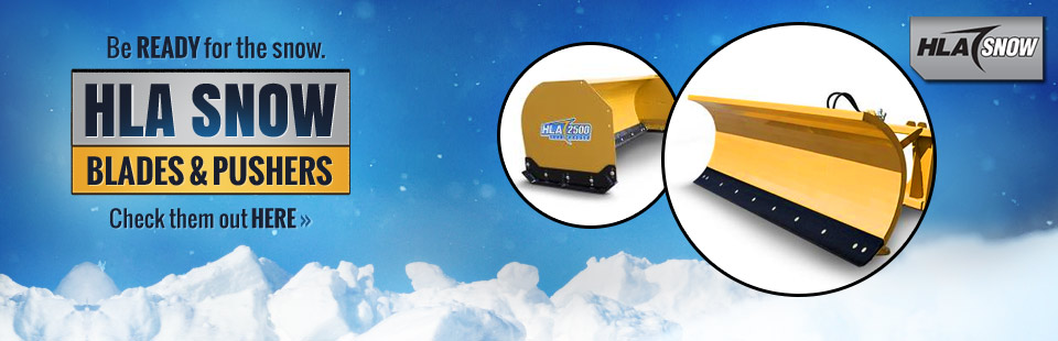 HLA Snow Blades and Pushers: Click here to view the models.