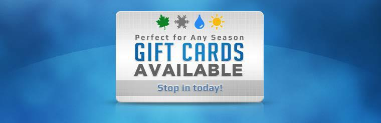 Gift Cards Available: Stop in today!