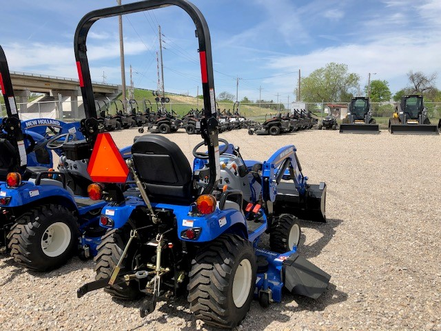 2019 New Holland Agriculture Workmaster™ 25S Sub-Compact