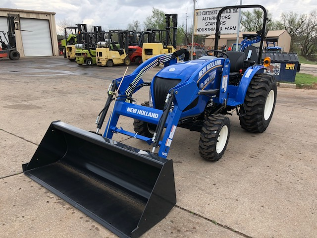 2017 New Holland Agriculture Workmaster™ 35/40 Compact T4B