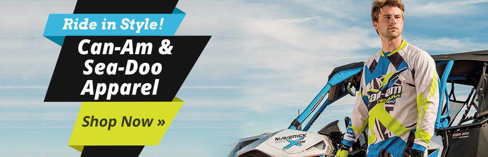Can-Am & Sea-Doo Apparel: Click here to shop online.