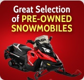 Great Selection of pre-owned snowmobile