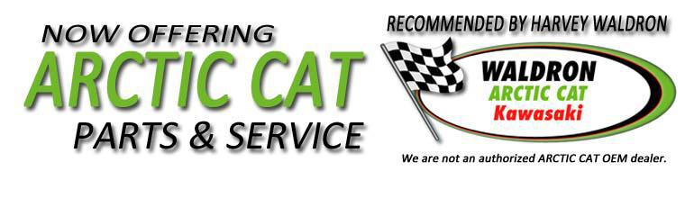 Now Offering Arctic Cat Parts and Service!