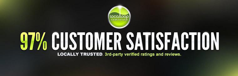 97% Customer Satisfaction on Localloop: Click here for details.