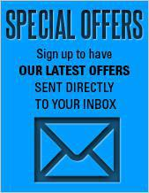 Sign-up to have our latest offers sent directly to your inbox!