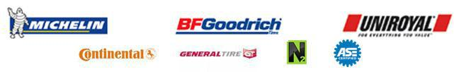 We carry great products from Michelin®, BFGoodrich®, Uniroyal®, Continental, and General. We provide nitrogen service. ASE Certified.