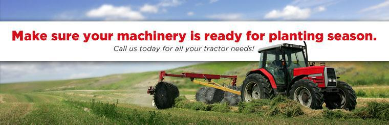 Make sure your machinery is ready for planting season. Call us today for all your tractor needs!
