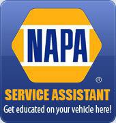 NAPA Service Assistant – Get educated on your vehicle here!