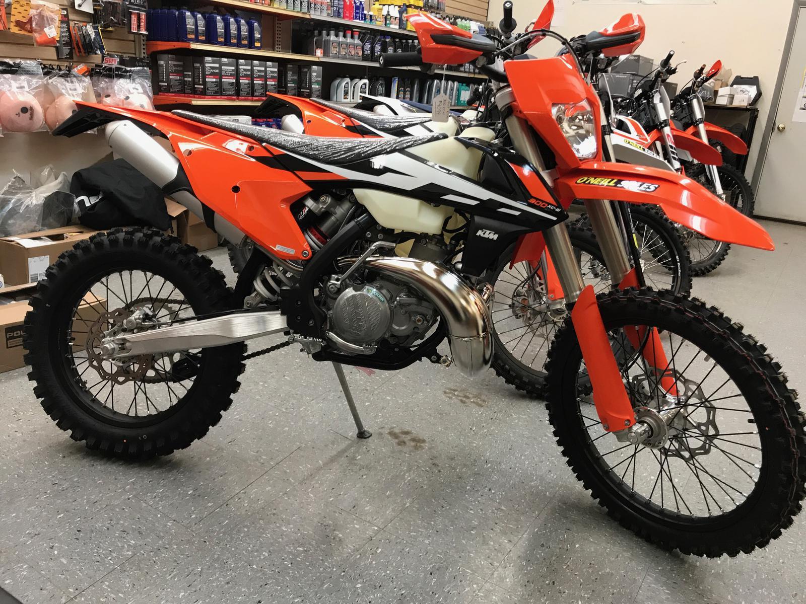 2017 ktm 300 xc-w for sale in farmington, ny. o'neill sales