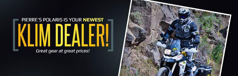 Pierre's Polaris is your newest Klim dealer! Get great gear at great prices!