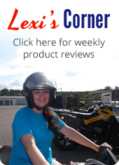 Lexi's Corner. Click here for weekly product reviews.