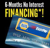 6-Months No Interest Financing