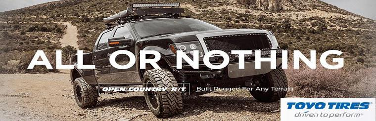 Toyo Tires Open Country R/T:  Learn more!