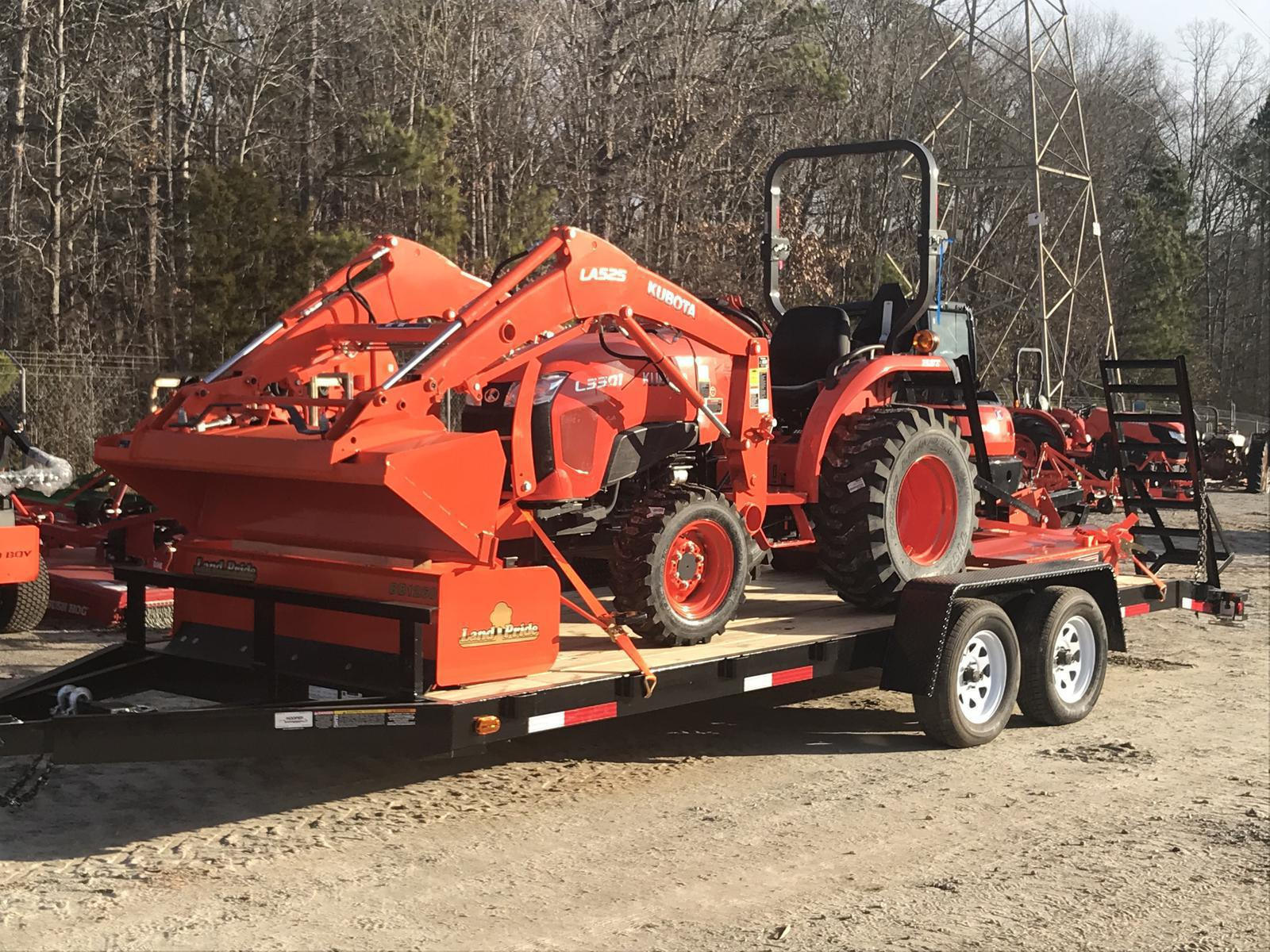 2019 Kubota Kubota L3901 HST Tractor Package for sale in