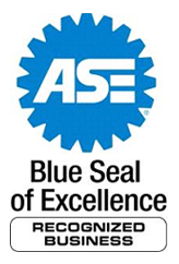 ASE Bule Seal of Excellence Recognized Business.