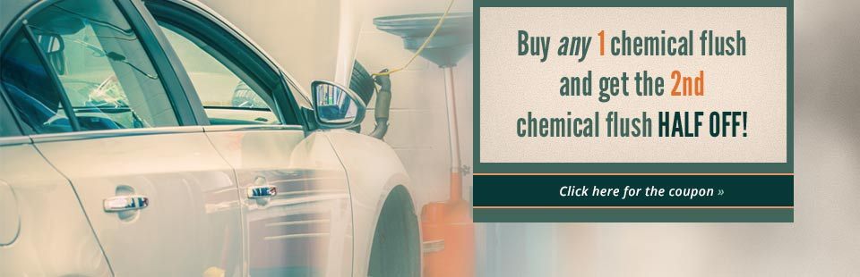 Buy any 1 chemical flush and get the 2nd chemical flush half off!