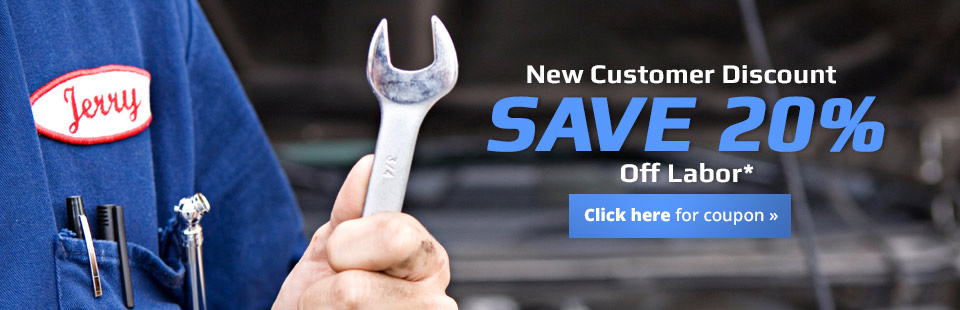 New Customer Discount: Click here to get a coupon to save 20% off labor!
