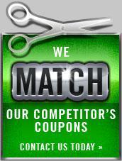 We Match Our Competitor's Coupons