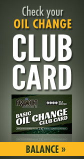 Check your Oil Change Club Card Balance.