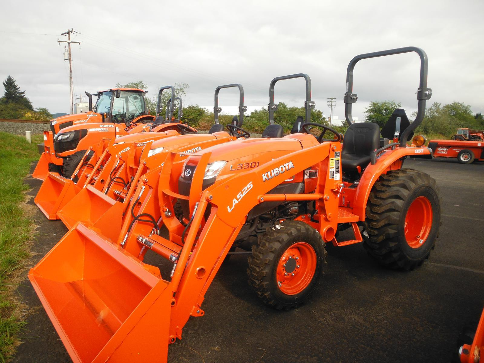 Kubota L3301 HST for sale in Tillamook, OR  Boyd's Implement Service