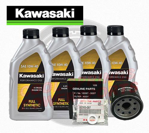 kawasaki 12-17 teryx/4 synthetic oil change kit for sale in