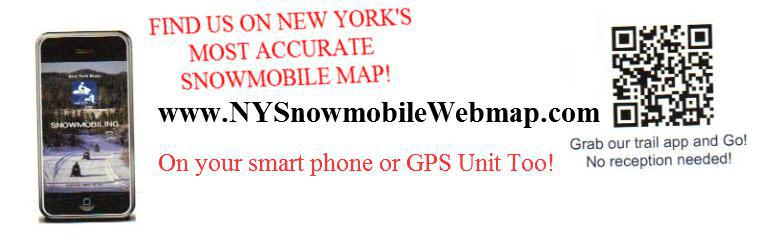 Find us on New York's Most Accurate Snowmobile Map!