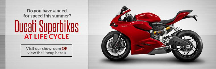 2014 Ducati Superbikes: Visit our showroom today or click here to view the lineup.