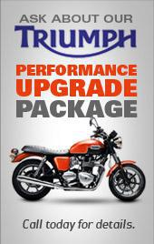 Ask about our Triumph performance upgrade package! Call today for details.