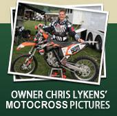 Owner Chris Lykens' Motocross Pictures