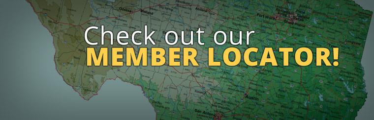 Check out our Member Locator!