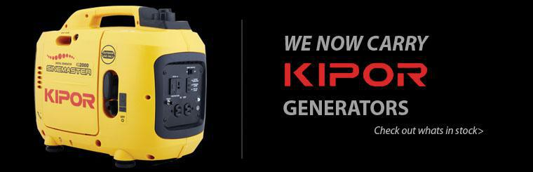 Click here to see Kipor generators in stock