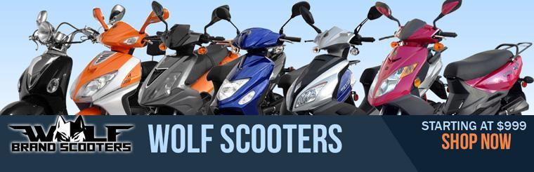 Click to shop our summer selection of wolf scooters today!