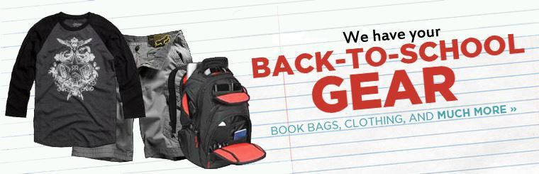 Click to view all of our back to school inventory!