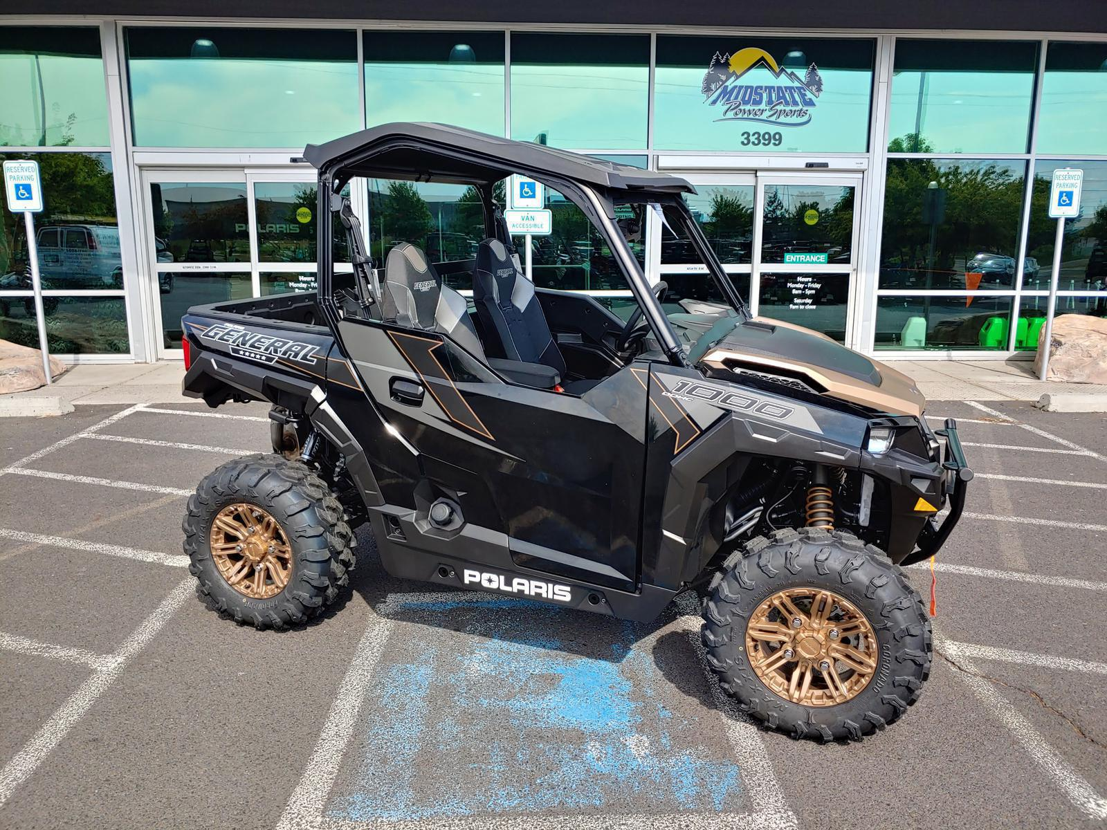 Polaris General 1000 >> 2019 Polaris Industries Polaris General 1000 Eps Ride Command Edition Black Pearl